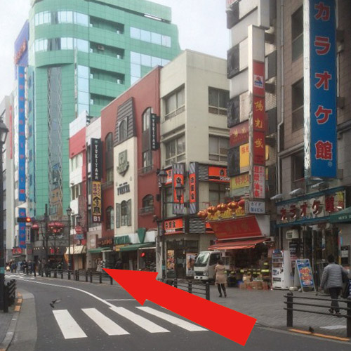 池袋駅北口〜クラブハートへの道案内4
